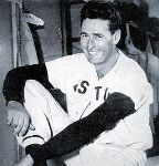 Ted Williams-Baseball Digest-1949 via Wikimedia Commons